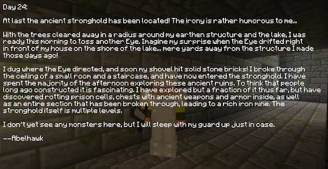 Entry 24: Inside the Stronghold