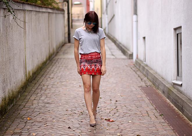 outfit trend fashionblogger print boho handm pumps nieten zara statement 04