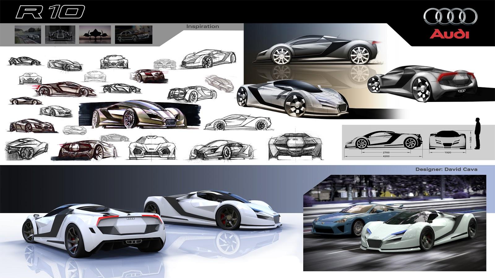 David Cava Design Audi R10