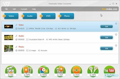 Freemake Video Converter 4.1.1.0
