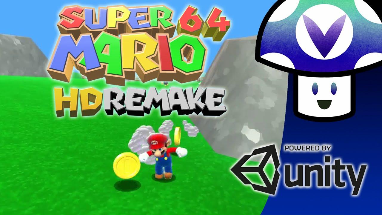 bajar gratis el nuevo juego de Super Mario 64 Remake Wii U Fan DeMo