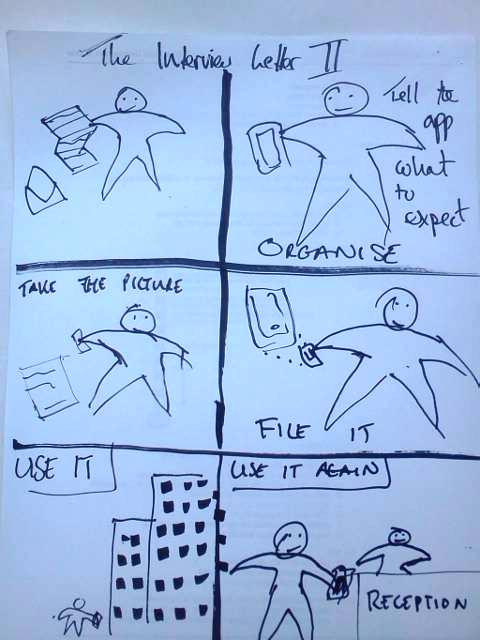 Second storyboard