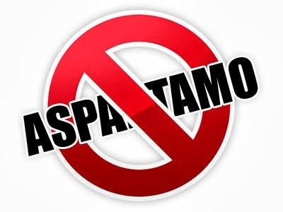Prohibido Aspartamo
