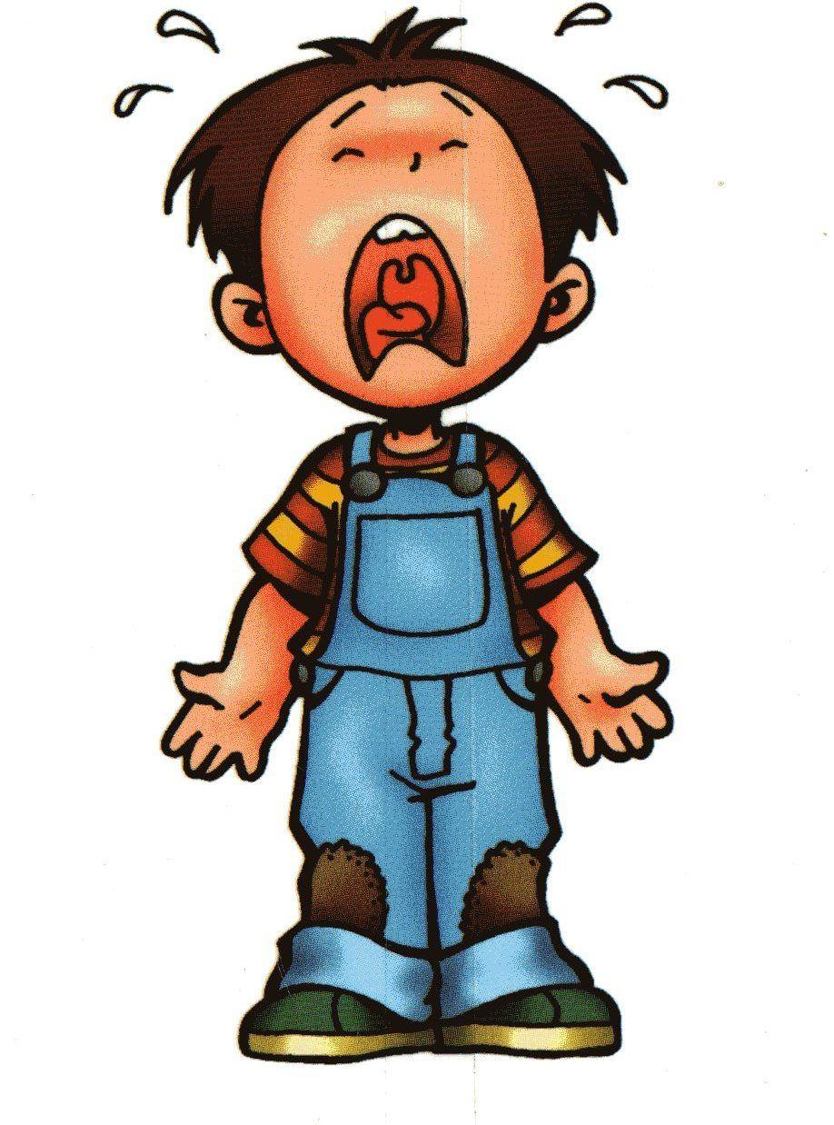 Dibujos niños llorando - Imagui