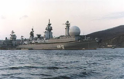 kapal komando terbesar milik Angkatan Laut Uni soviet