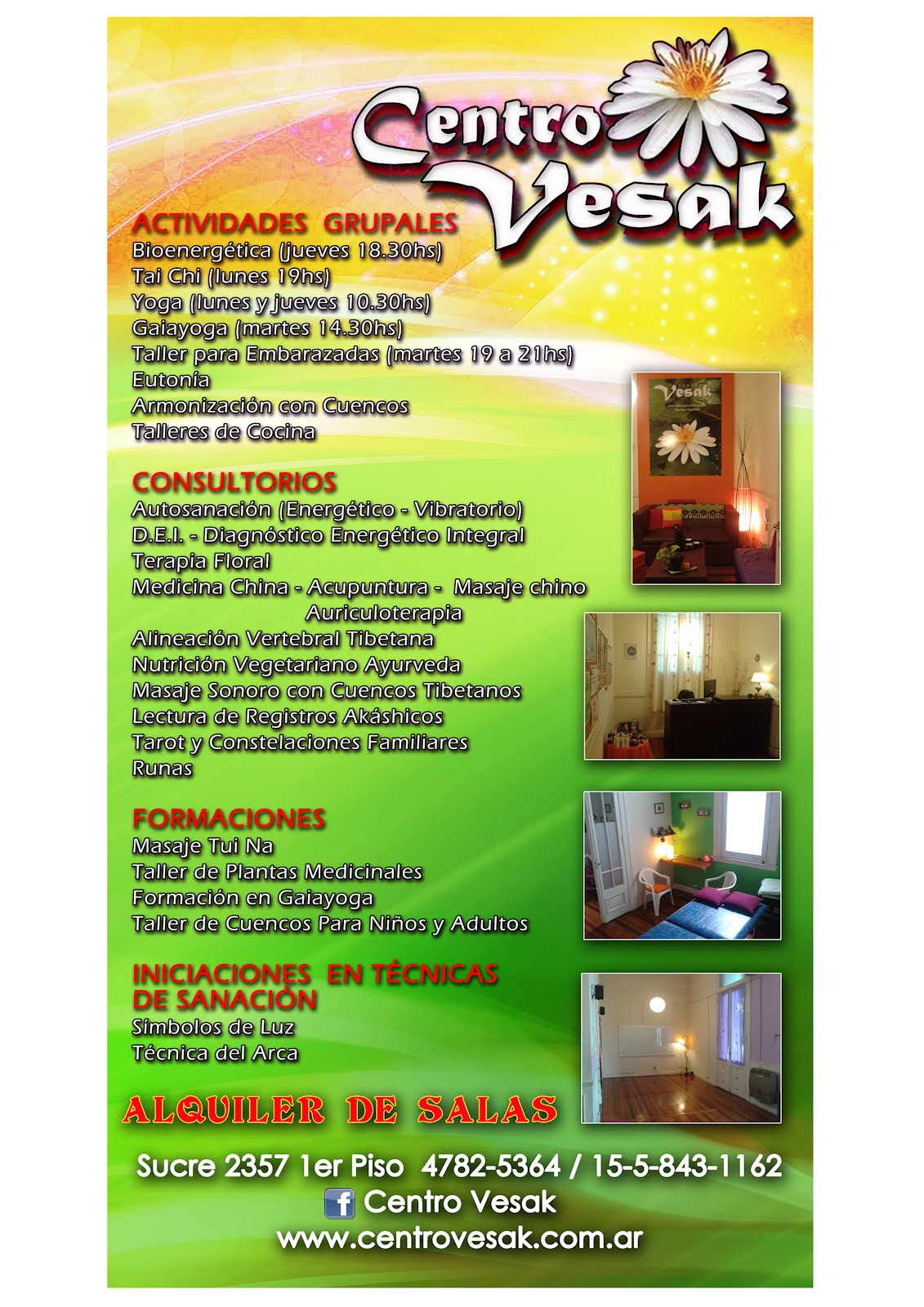 Centro Vesak: ACTIVIDADES