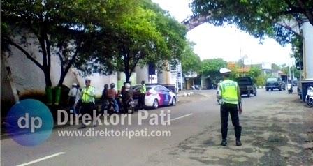 7 Lokasi Rawan Operasi Tilang Kendaraan di Pati