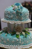 2-Tiers Wedding Cake