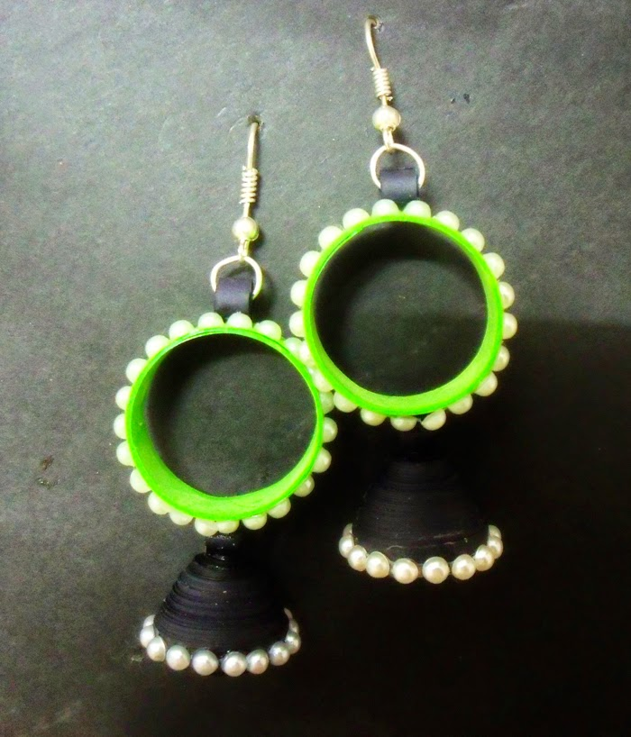 Quilling Earrings Designs Images : Amazingly Creative Paper Quilling Jewellery Designs