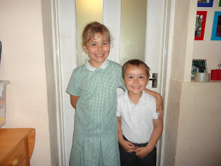 Top Ender and Big Boy on Last Day of Term 2013