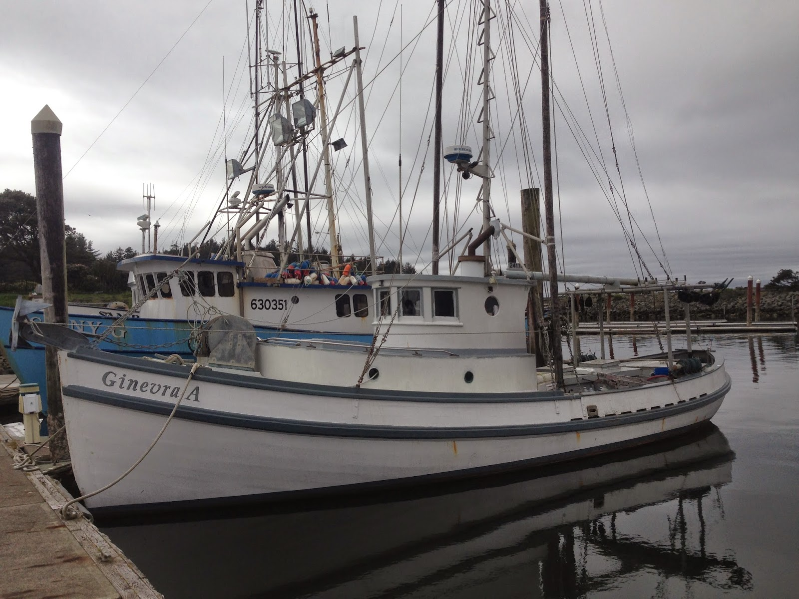 Worknot on the move eureka eureka to coos bay oregon for Coos bay fishing