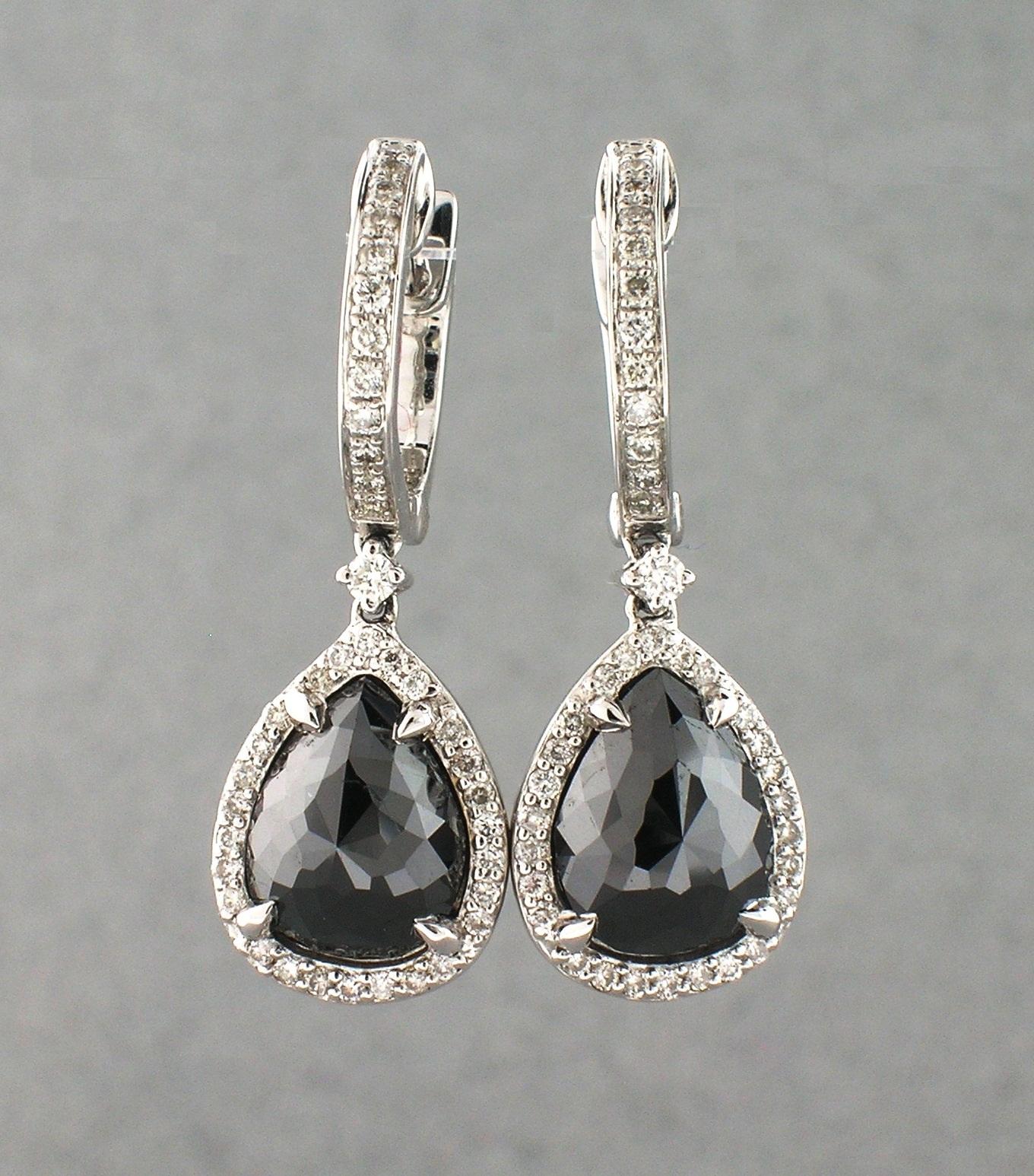 Elegant Most Beautiful Diamond Earrings   Jewellry\'s Website