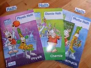 Test Erfahrungsbericht Bewertung Häffte Schulhefte Physik Chemie Mathematik