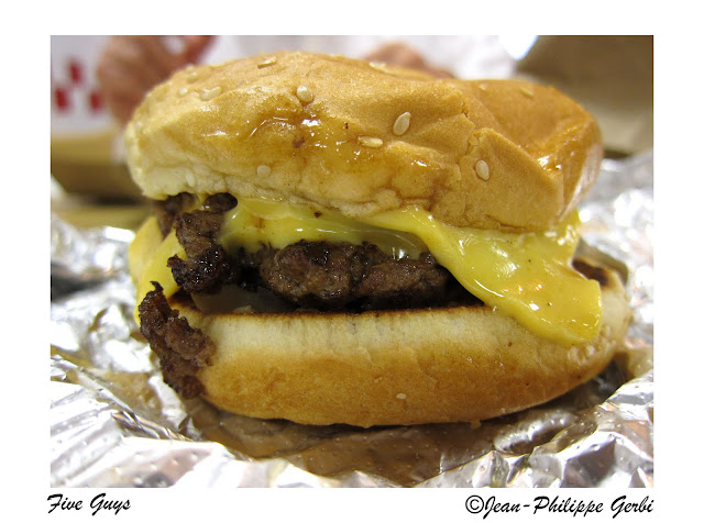 image of Burger at Five Guys in NYC, New York