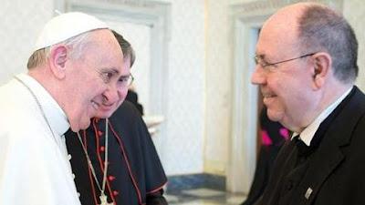 Papa Francisco encontra presidente da Igreja evangélica alemã