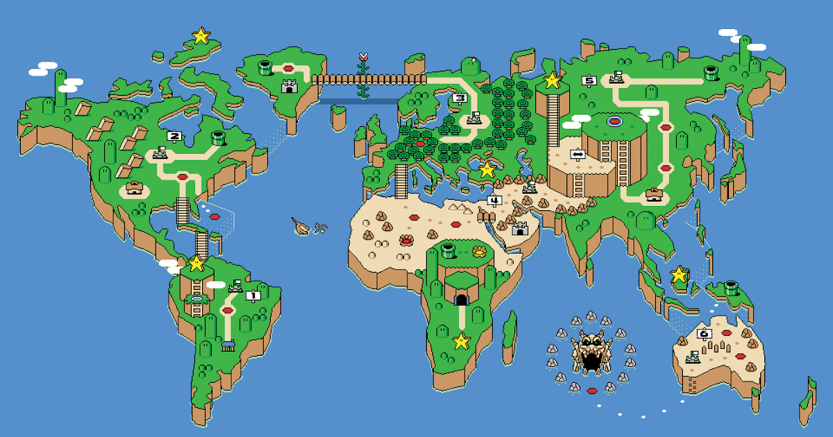 Super Mario Map Nature 39 s Wallpapers