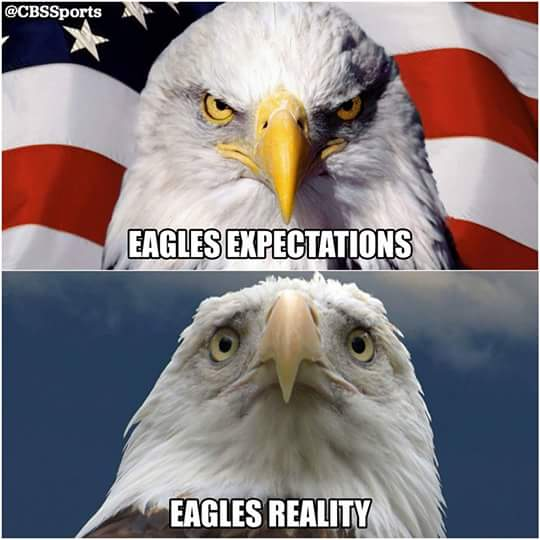 #ExpectationVsReality #eagleshaters #nfl #expectations #reality.- eagles expectations, eagles reality