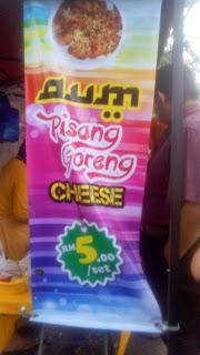 Food Review Pisang Goreng Cheese
