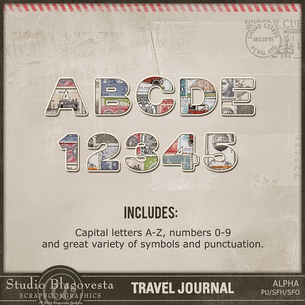 http://shop.scrapbookgraphics.com/Travel-Journal-Alpha.html