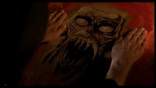 Monster painting in Dark Waters 1993