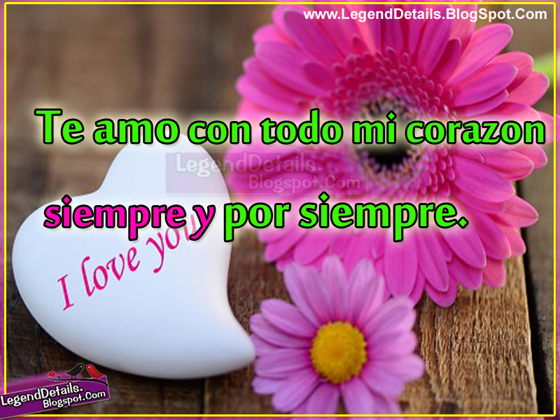 Cute Love Expressing Messages Quotes in Spanish Legendary Quotes ...