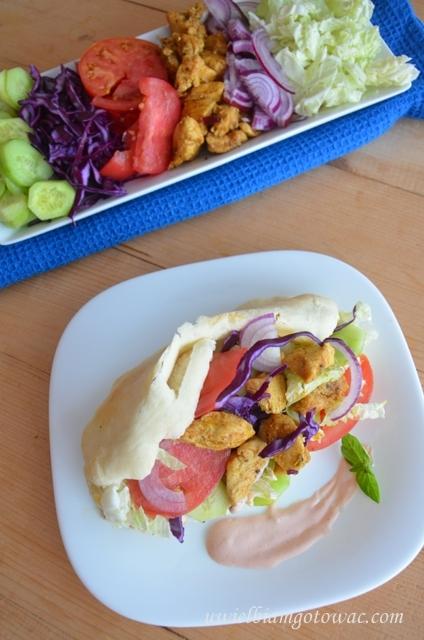 Domowy kebab drobiowy