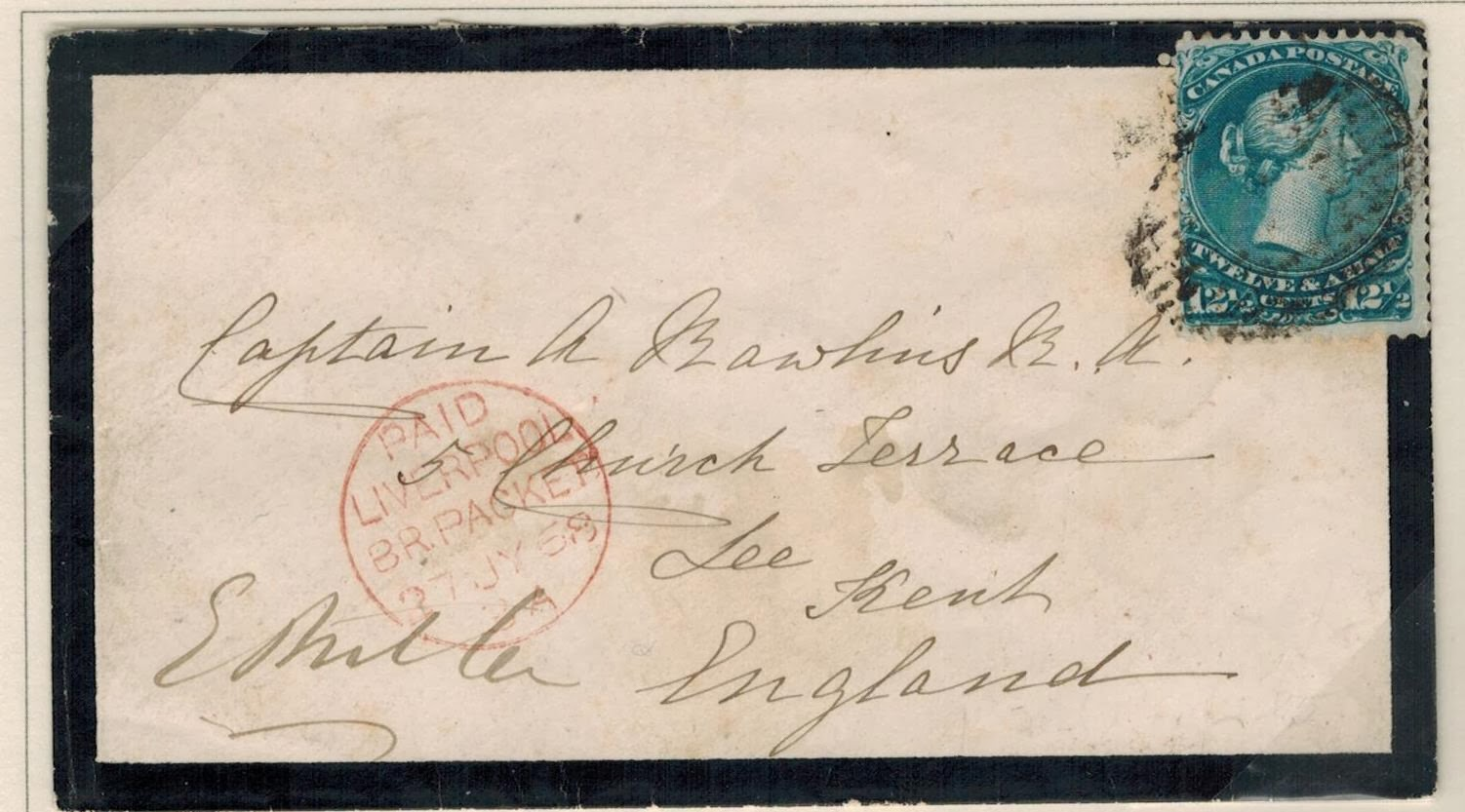 Postal History Corner: Letter Rates to the United Kingdom and