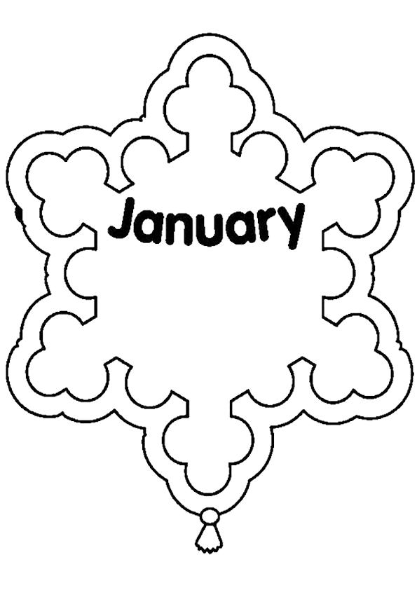 Excelente Imágenes De Enero Para Colorear Componente - Ideas Para ...