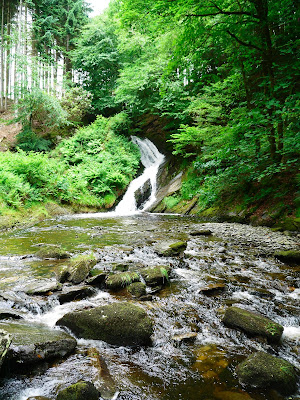 Waterfalls on the Hafod Estate