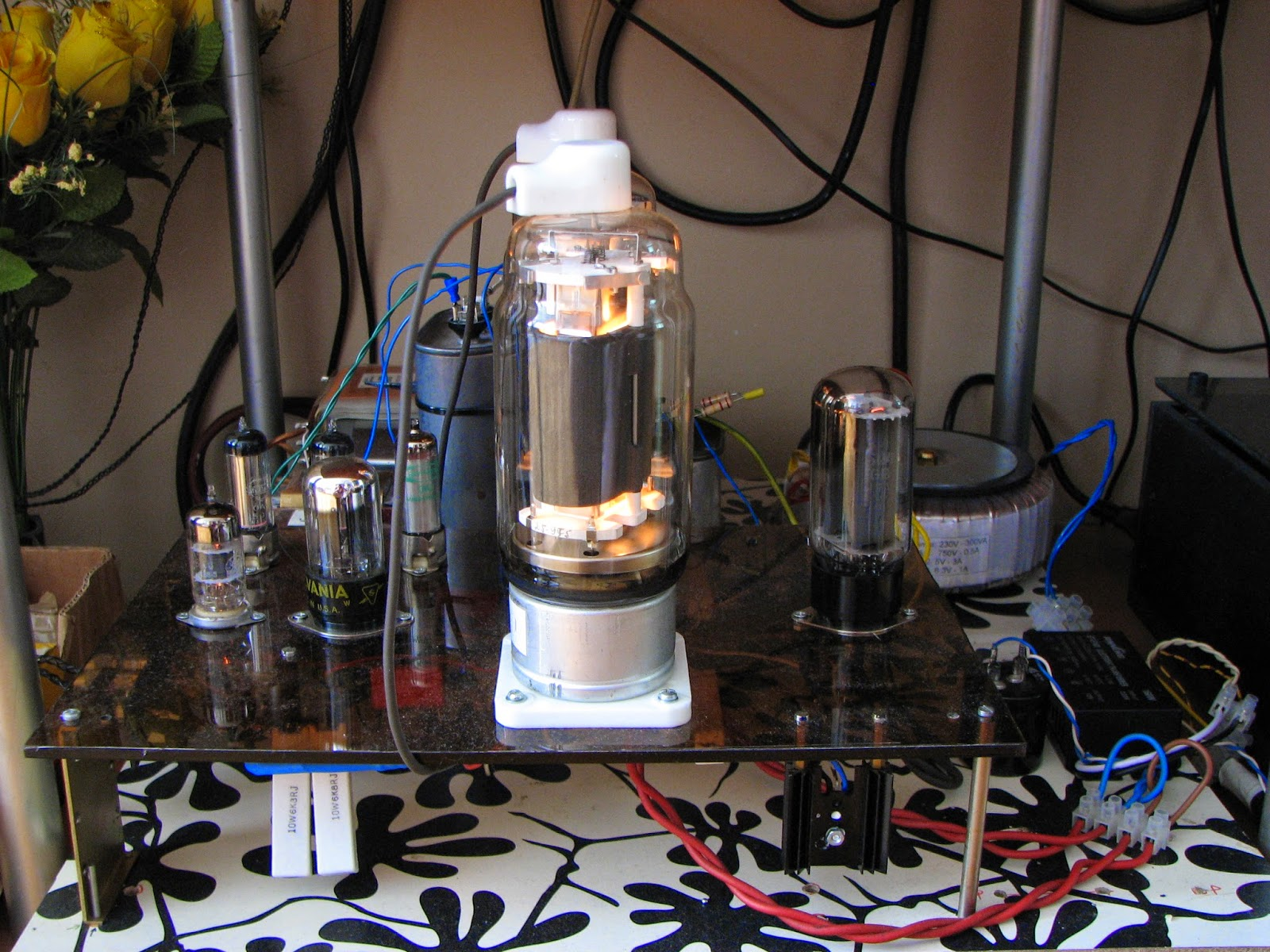 Rh Amplifiers Rh813 The Flagship Project Rectifier Circuit For Tube Amp Tubeamplifier Audiocircuit After Designing Several With Pentode And Beam Tetrode Output Tubes Trying Multiple Options In Universal Tta