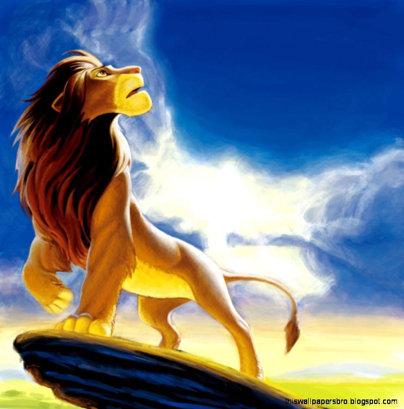 Cartoon Wallpaper Simba The Lion King This Wallpapers