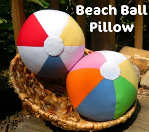 Beach Ball Pillow