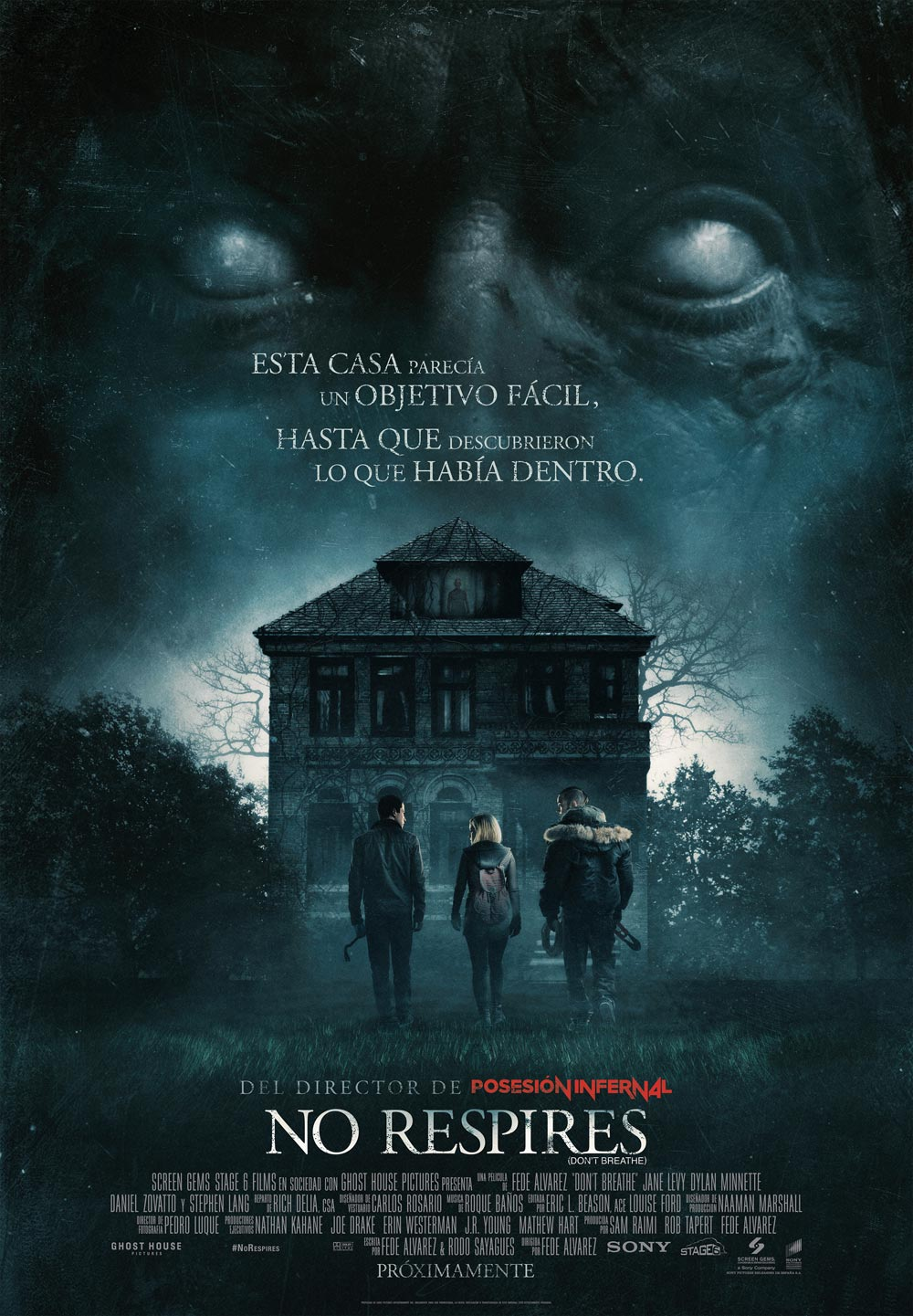 No respires (Don't Breathe)