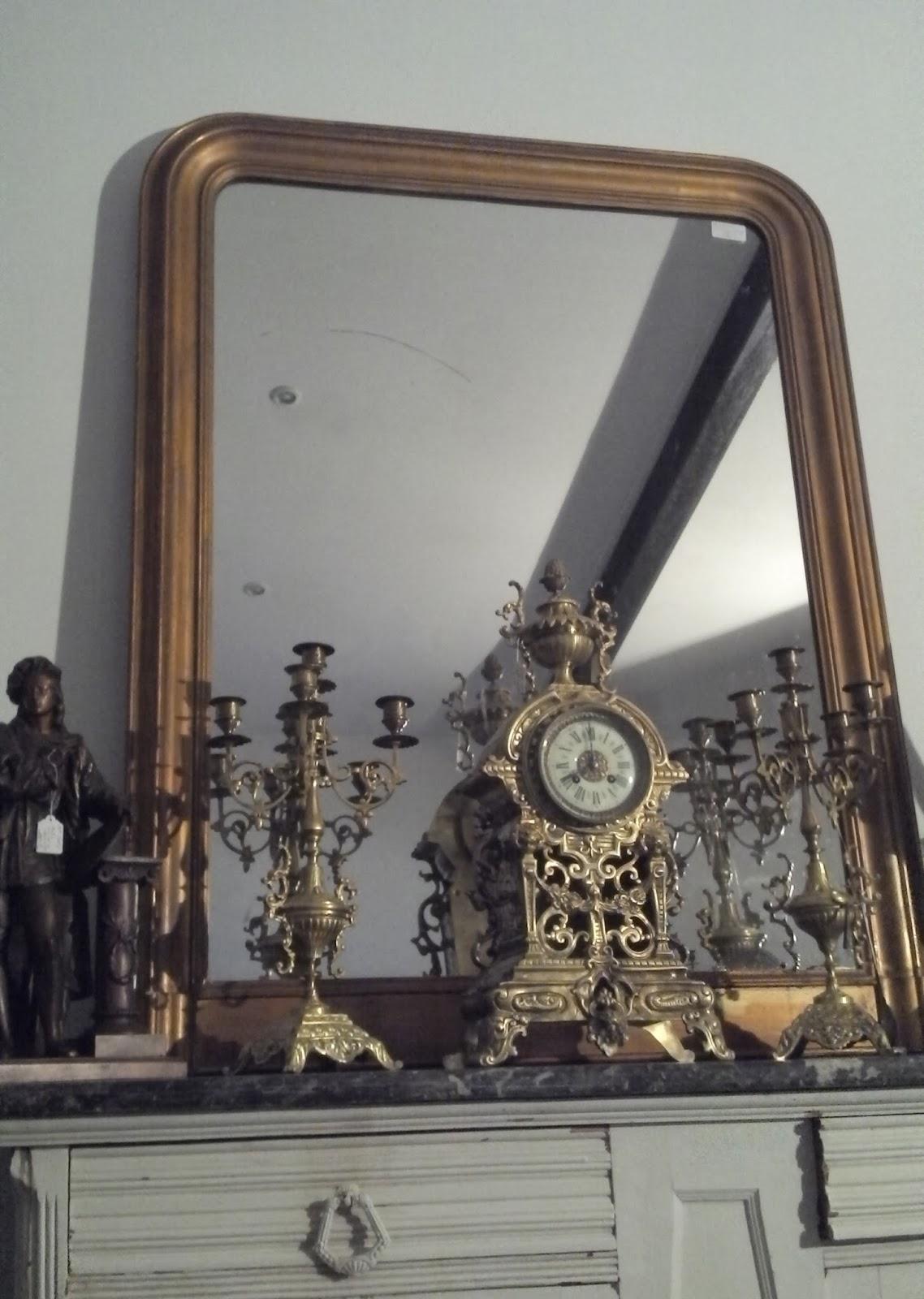 ancien miroir 233 poque louis philippe dor 233 parure de chemin 233 e xixeme antique frenc ebay
