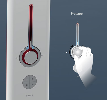 Душевая система Leaflet Shower System от Alfred Boyadgis