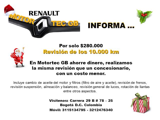 Revision de los 10.000 km - Taller Automotriz Bogota