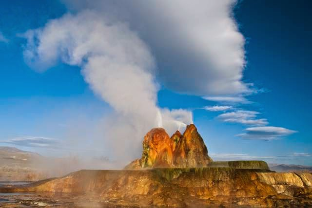 Fly Geyser, Nevada 89412, USA