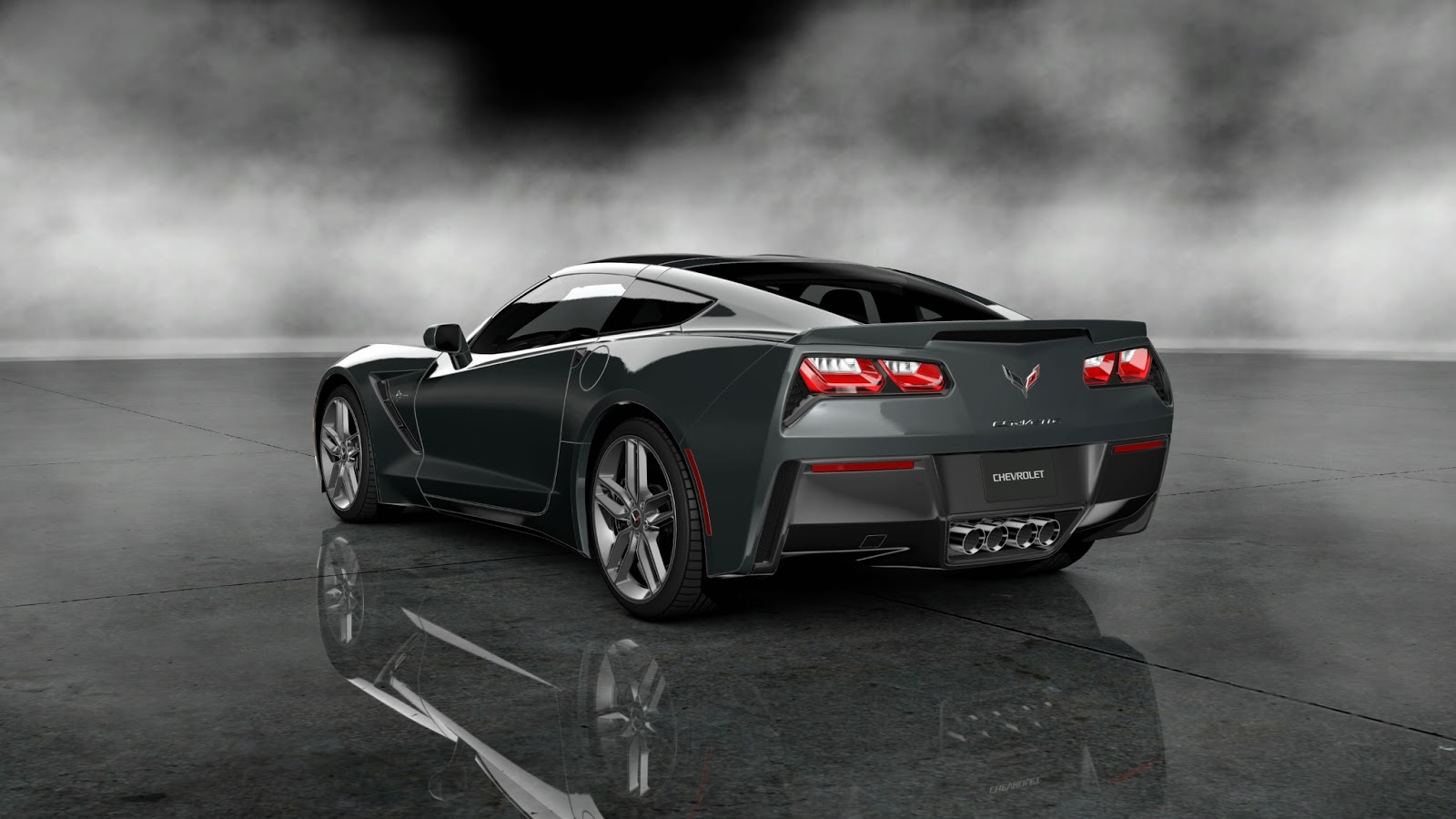 2014 Corvette black