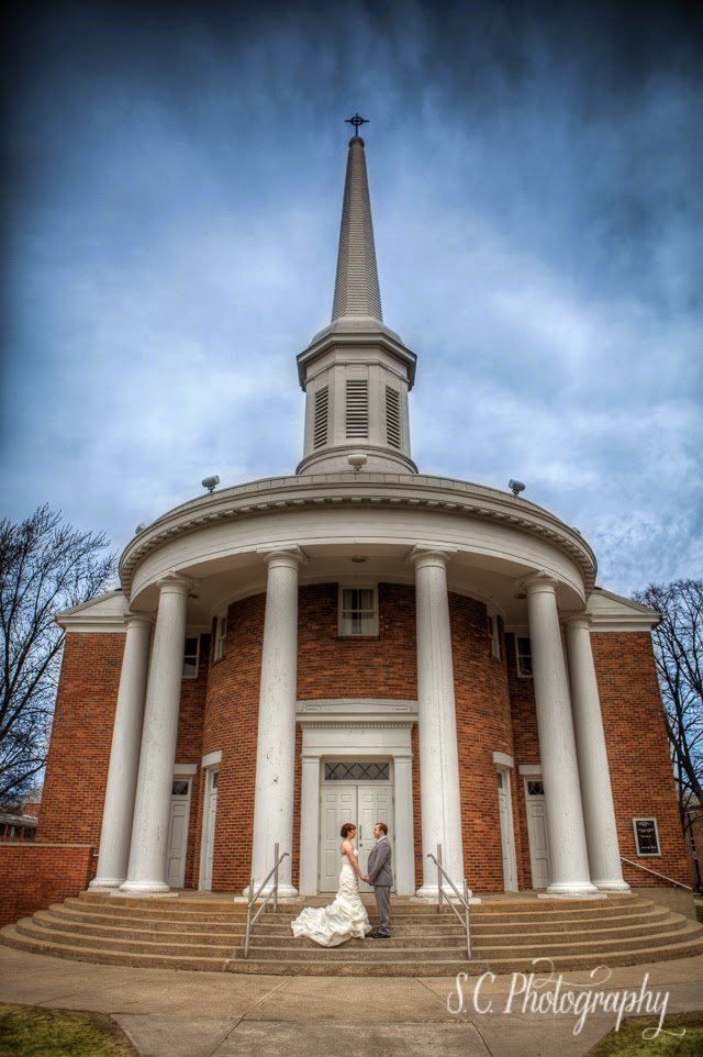 alma college chapel wedding