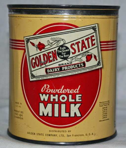 Golden State milk