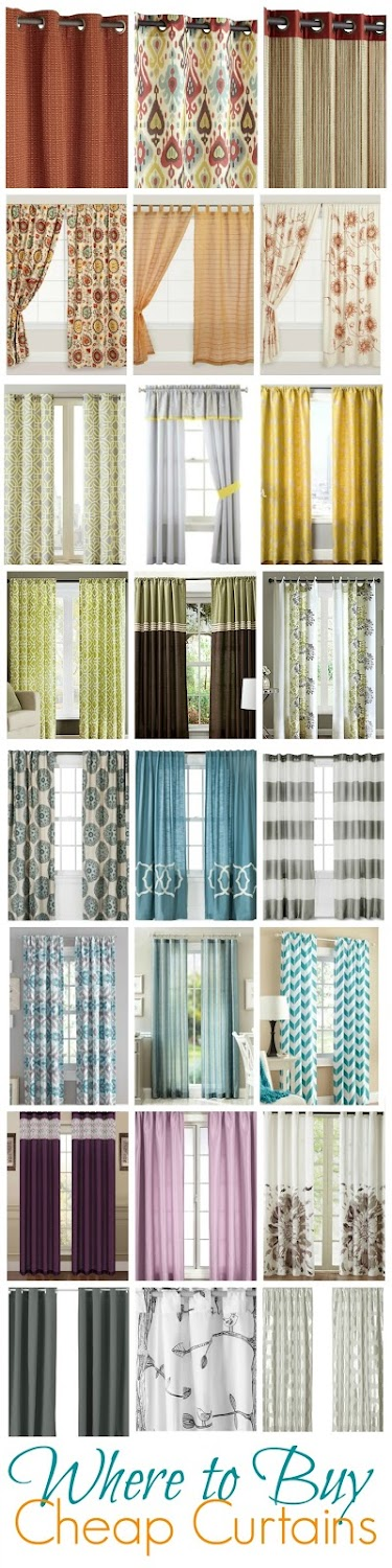 where to buy cheap curtains