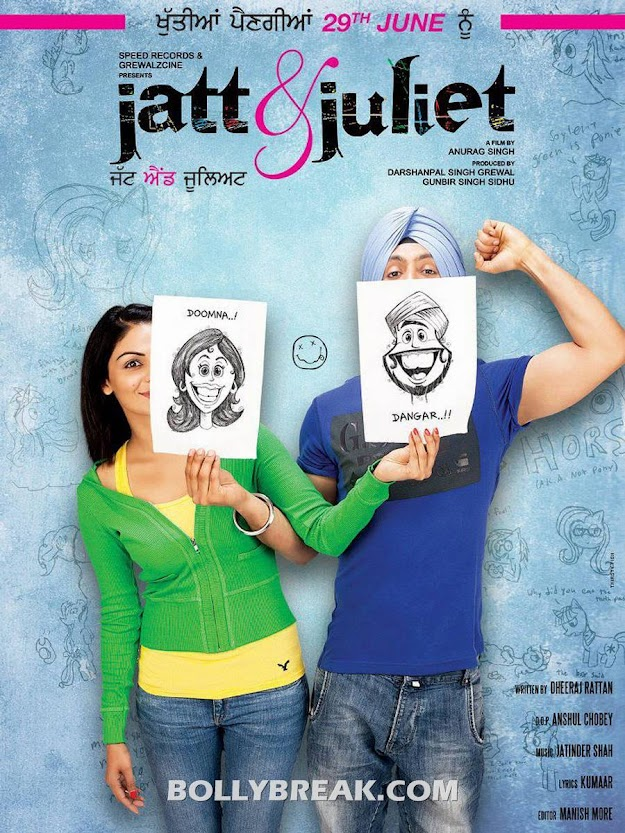 Jatt and Juliet Movie Posters