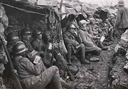 Prima Guerra Mondiale - Foto pubblicata su www.centenario1914-1918.it