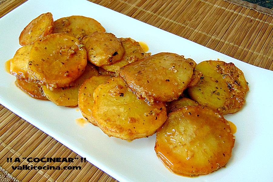 Cocinar Con Patatas | Patatas O Papas En Adobillo A Cocinear Recetas Valkicocina Com