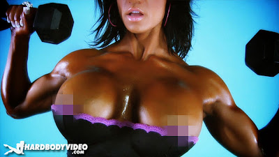 Jennifer Burns fitness muscle