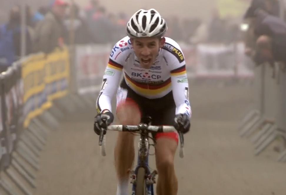 Philipp Walsleben termine 3ième du Flandriencross