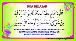 Let's recite the doa together*~