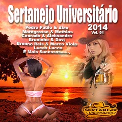 Sertanejo Universit�rio - 2014 - Vol. 01