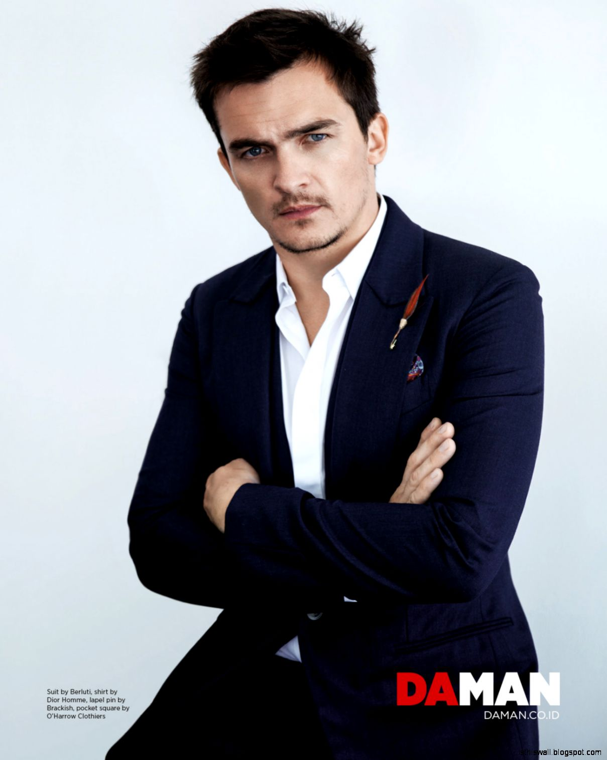 DAMAN Cover Story Rupert Friend  Im a Rupert Friend Fan