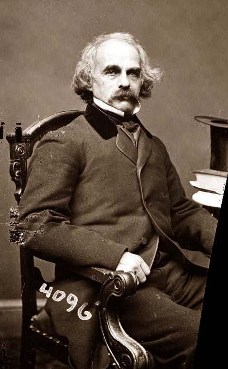 Nathaniel Hawthorne Writing Quote